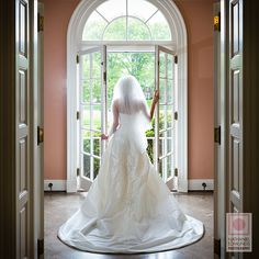 There is something about a portrait of a bride from the back.