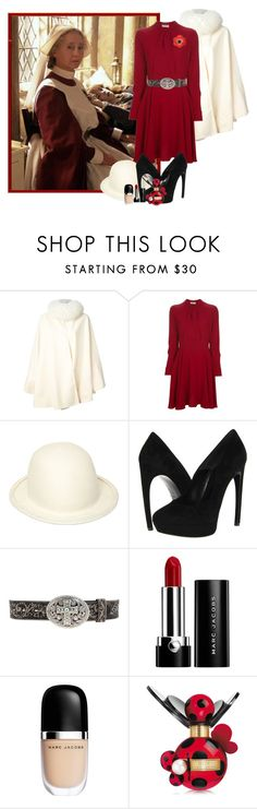 """""""Poppy Pomfrey (Madam Pomfrey)"""" by harry-potter-girl ❤ liked on Polyvore featuring Chloé, Yves Saint Laurent, Ann Demeulemeester, Alexander McQueen, Justin and Marc Jacobs"""