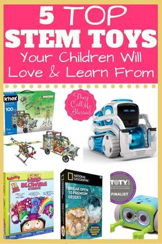 5 Top STEM Toys Chil