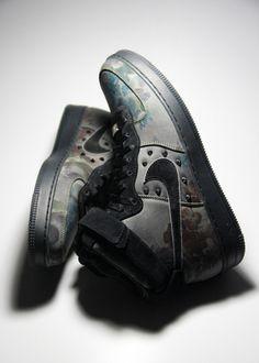 Image of Nike Air Force 1 X Liberty London Quick-Strike UK 11.