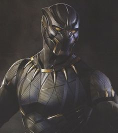 We've collected over 40 pieces of Black Panther concept art and here you'll find the first batch of that featuring futuristic, comic accurate, and cat-like takes on T'Challa's costume in the Marvel movie. Ms Marvel, Marvel Comic Universe, Marvel Comics Art, Marvel Heroes, Marvel Characters, Marvel Movies, Black Panther Movie 2018, Black Panther King, Black Panther Marvel