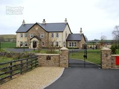 98+Carryduff+Road,+Temple,+Carryduff House Front, My House, House Designs Ireland, Two Storey House, Build Your Own House, Property Design, Farmhouse Remodel, Dream House Exterior, Dream Home Design