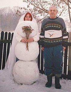Romantic wedding pic