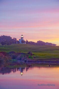 Point Pinos Lighthouse - Monterey California by Darvin Atkeson, via Flickr