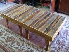 Rustic Reclaimed Wood End Table Side Table by StorybookTreasure, $150.00
