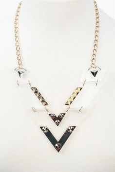 Transformer Necklace in Gold..not a big fan of statement necklaces but i love this one