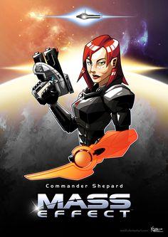 Female Shepard fanart