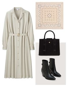 """""""Parisian Chic"""" by aneeqlondon on Polyvore featuring Uniqlo, MANGO, simple and Modest"""
