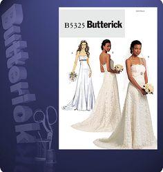wedding dress pattern