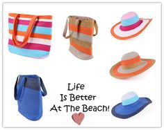 Life is Better At the Beach....Always!!  (And Life Is Good Products Make The Shore Even More of a Delight)....!!