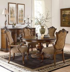Pemberleigh Round to Oval Table Dining Room Set   Legacy Classic   Home Gallery Stores
