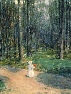 Central Park - Childe Hassam