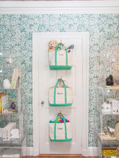 Creating storage space is very important in any room and the same goes for a baby nursery. If you are also looking for baby nursery storage and organization ideas, you can take a look at them here: 1 Nursery Storage, Kids Storage, Storage Room, Creative Storage, Storage Hacks, Storage Design, Storage Units, Cube Storage, Extra Storage