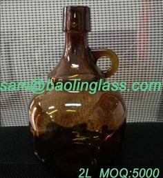 2000ml amber Top Palla Growlers