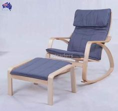 Comfortable Relax Chair Rocking Chair and Stool Set Gliders Rocker Lounger Living Room Furniture Modern Adult Rocking Chair Wood Living Room Chairs, Living Room Furniture, Modern Furniture, Wooden Table And Chairs, Bamboo Shelf, Living Room Pictures, Relax Chair, Quality Furniture, Rocking Chair