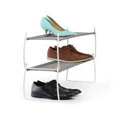 There are few things worse than tripping over a shoe first thing in the morning (or in the middle of the night, for that matter), so keep it organized with this shoe rack.  Find the Shoe Lovers Rack, as seen in the Welcome Sunshine Collection at http://dotandbo.com/collections/spring-into-style-welcome-sunshine?utm_source=pinterest&utm_medium=organic&db_sku=94887