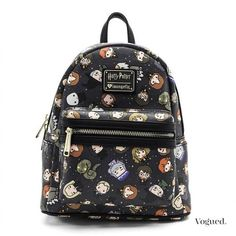 Find Loungefly Harry Potter Character All Over Print Mini Backpack online. Shop the latest collection of Loungefly Harry Potter Character All Over Print Mini Backpack from the popular stores - all in one Mochila Harry Potter, Sac Harry Potter, Harry Potter Accesorios, Harry Potter Backpack, Harry Potter Items, Harry Potter Merchandise, Harry Potter Jewelry, Harry Potter Style, Harry Potter Outfits
