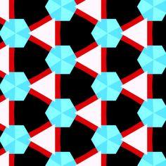 Troelstra Red & Blue Stoflab