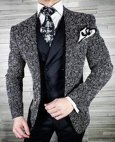 Simply add 5 items to your cart. Mens Casual Dress Outfits, Blazer Outfits Men, Dress Suits For Men, Men Dress, Fashion Outfits, Mens Fashion Suits, Mens Suits, Designer Suits For Men, Bespoke Suit
