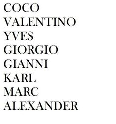 Would have to change this to Alexander first. Then Marc etc.