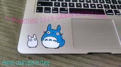 COLORED layered Totoro N' Friend Vinyl Decal 3-12