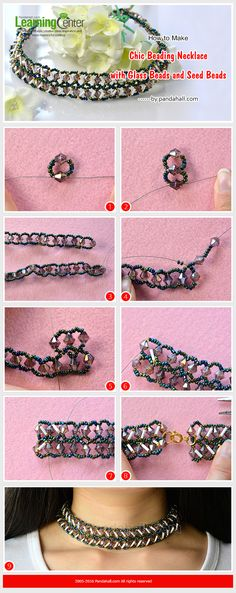 How to Make Chic Beading Necklace with Glass Beads and Seed Beads from LC.Pandahall.com