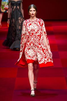 DOLCE AND GABBANA Spring/Summer 2015 Collection  Milan Fashion Week