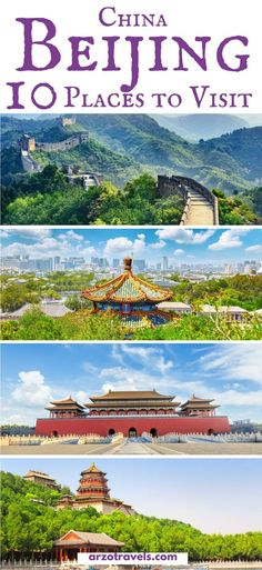 Where to go and what to see in Beijing, China. Top tips for visiting Beijing.