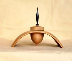 Lidded Arch, from the Pete Gray collection, turned from kauri
