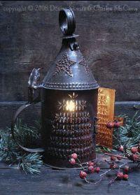 just look at this tin lantern...