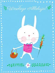 Wesołego Alleluja! | królik wielkanocny | easter bunny ©Katarzyna Krasowska
