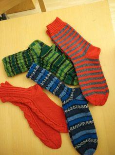 Socken für den Adventskalender der Kids