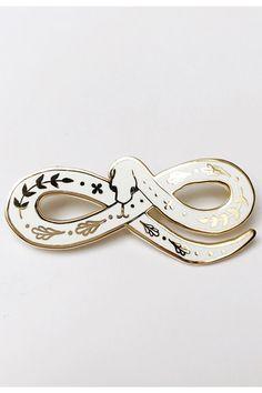 XL Enchanted Snake Lapel Pin - SAD TRUTH SUPPLY