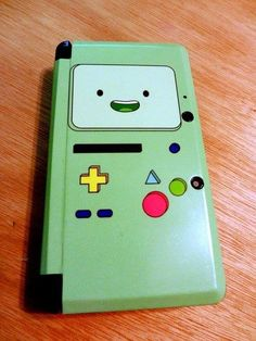 BMO Nintendo 3DS case. I need this. SHUT UP AND TAKE MY MONEY!