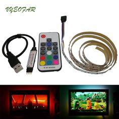 Delicious Waterproof Usb Rgb Led Soft Strip Light Background Backlight For Computer Tv Hot Computer & Office