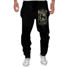Mens Bob Marley Rebel Music Legend Sweatpants Jogger Pant >>> Want to know more, click on the image.
