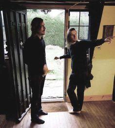 Steven Wilson and Mikael Akerfeldt