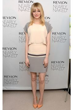 Emma Stone in Daniel Vosovic - Mr. Blasberg's Best-Dressed List: December 7th, 2012