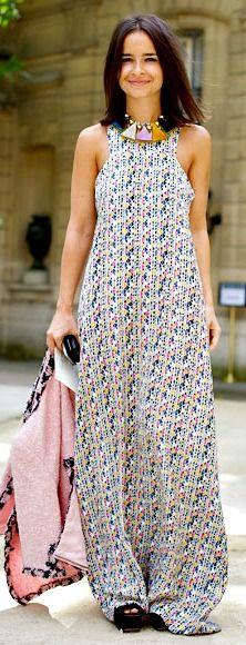 Miroslava Duma. I just love this dress.