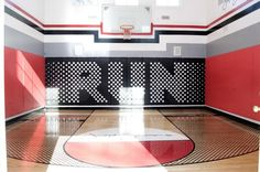 Basketball Court Flooring Options: Most professional basketball teams play on a maple hardwood court floor.