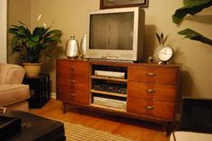 The Case for Dressers as TV Stands