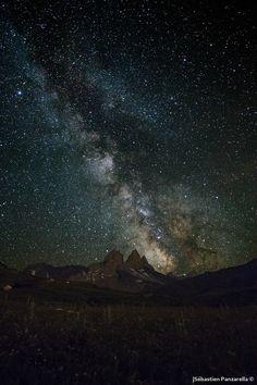 Milky way over the french Alps by Sébastien Panzarella on 500px