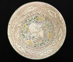 Dish with Winged Horse, Vietnam, 16th century. Stoneware with decoration. Height: 4 1/8 in. (10.48 cm); Diameter: 16 1/2 in. (41.91 cm). Los Angeles County Museum of Art, Gift of Dr. Chester and Mrs. Wanda Chang (M.2006.64.1). Photo © Museum Associates/LACMA
