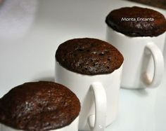 bolo-de-chocolate-de-caneca19 Cupcakes, Pudding, Cookies, Tableware, Sweet, Kitchen, Desserts, Brownies, The Best