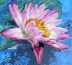 mosaic by collinemosaics - inspirée d'une peinture de John LAUTERMILCH