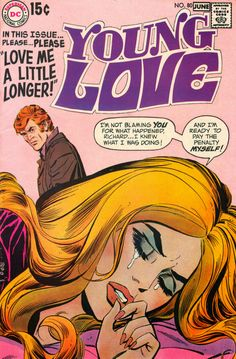 Sequential Crush - Young Love #80 (May/June 1970)