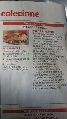 Omelete turbinada