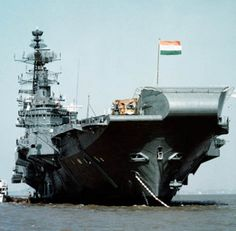 INS Viraat is an air craft carrier ship of the Indian Navy and at present operates as the sole air craft carrier vessel for the country. The naval ship was acquired from the British navy in the year and it began its operational duty in the year Indian Navy Ships, Indian Navy Day, Indian Army, Navy Aircraft, Military Weapons, Aircraft Carrier, Royal Navy, Fighter Jets, Boats