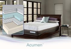 iComfort® Directions™ Acumen-We have 4 models of the iComfort Directions on our sales floor for you to try including the Acumen!