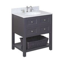 "New Yorker 30"" Single Bathroom Vanity Set"